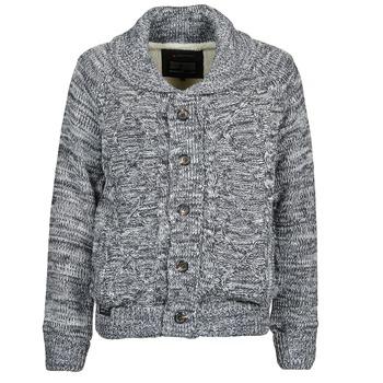 衣服 男士 羊毛開衫 Redskins COREY 灰色