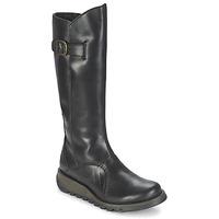 鞋子 女士 都市靴 Fly London MOL 2 黑色