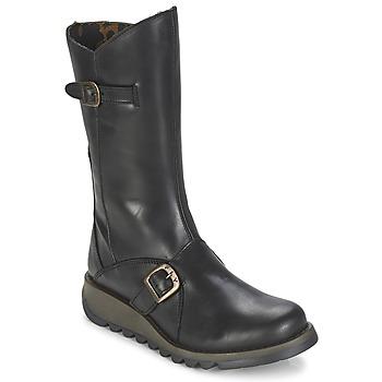 鞋子 女士 都市靴 Fly London MES2 黑色