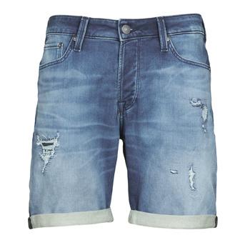 衣服 男士 短裤&百慕大短裤 Jack & Jones 杰克琼斯 JJIRICK 蓝色 / Edium