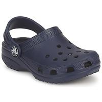 鞋子 儿童 休闲凉拖/沙滩鞋 crocs 卡骆驰 CLASSIC KIDS 海蓝色