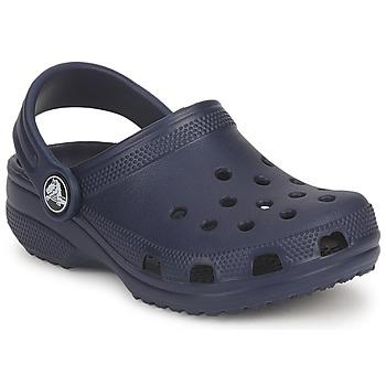 鞋子 儿童 洞洞鞋/圆头拖鞋 crocs 卡骆驰 CLASSIC KIDS 海蓝色