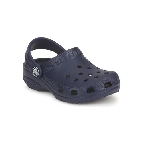 鞋子 男孩 洞洞鞋/圆头拖鞋 crocs 卡骆驰 CLASSIC KIDS 海蓝色