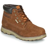 鞋子 男士 短筒靴 Caterpillar FOUNDER WP TX 棕色