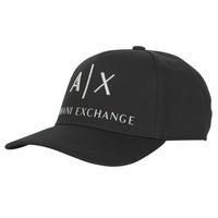 纺织配件 男士 鸭舌帽 EMPORIO ARMANI EAX 954039-CC513-00020 黑色
