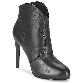 鞋子 女士 短靴 Ash 艾熙 BLOG 黑色
