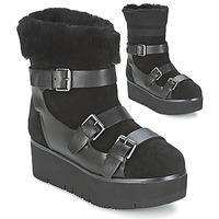 鞋子 女士 短筒靴 Ash 艾熙 ZAZIE 黑色