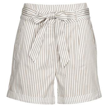 衣服 女士 短裤&百慕大短裤 Vero Moda VMEVA 白色 / 米色