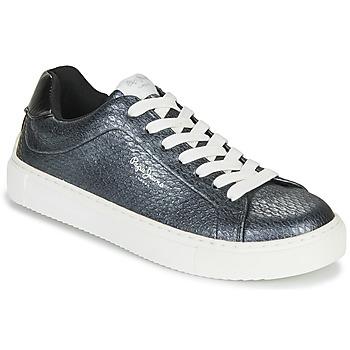 鞋子 女士 球鞋基本款 Pepe jeans ADAM SNAKE 灰色