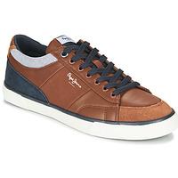 鞋子 男士 球鞋基本款 Pepe jeans KENTON SPORT 棕色