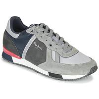 鞋子 男士 球鞋基本款 Pepe jeans TINKER ZERO SECOND 灰色 / 波尔多红
