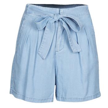 衣服 女士 短裤&百慕大短裤 Vero Moda VMMIA 蓝色