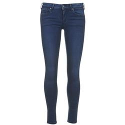 衣服 女士 七分裤 Pepe jeans LOLA 蓝色 / Brut