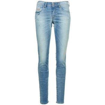 衣服 女士 紧身牛仔裤 Diesel 迪赛尔 FRANCY 蓝色 / 米色