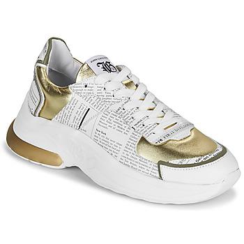 鞋子 女士 球鞋基本款 John Galliano 3646 白色 / 金色