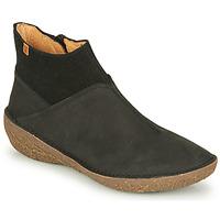 鞋子 女士 短筒靴 El Naturalista BORAGO 黑色