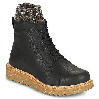 鞋子 女士 短筒靴 El Naturalista PIZARRA 黑色