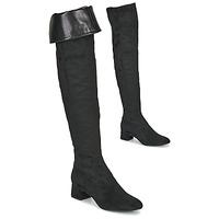 鞋子 女士 绑腿 Unisa LUKAS 黑色