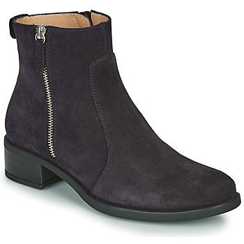 鞋子 女士 短筒靴 Unisa EBRAS 海蓝色