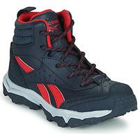 鞋子 男孩 球鞋基本款 Reebok 锐步 RUGGED RUNNER MID 黑色 / 红色