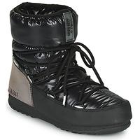 鞋子 女士 雪地靴 Moon Boot MOON BOOT LOW ASPEN WP 黑色