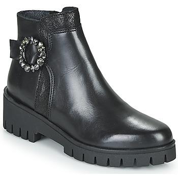 鞋子 女士 短筒靴 Myma KAOLI 黑色