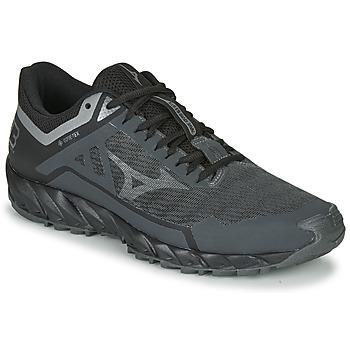 鞋子 男士 跑鞋 Mizuno 美津浓 WAVE IBUKI 3 GTX 黑色
