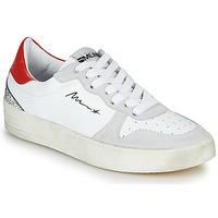 鞋子 女士 球鞋基本款 Meline  白色 / 红色