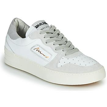 鞋子 女士 球鞋基本款 Meline  白色 / 米色
