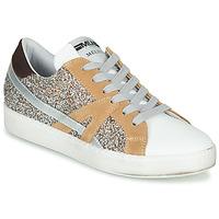鞋子 女士 球鞋基本款 Meline  白色 / 米色 / 金色