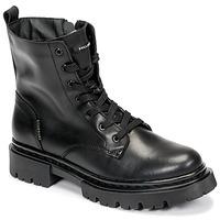 鞋子 女士 短筒靴 Bullboxer 610504E6L_BKC 黑色