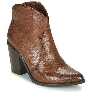 鞋子 女士 短靴 MTNG 50187-C50166 棕色