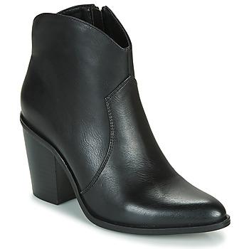 鞋子 女士 短靴 MTNG 50187-C50074 黑色