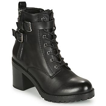 鞋子 女士 短靴 MTNG 58674-C50055 黑色