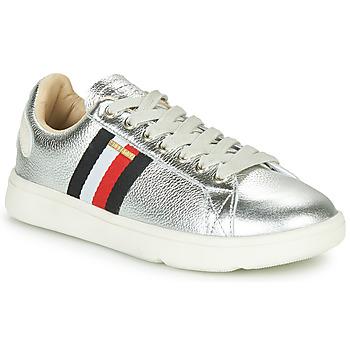 鞋子 女士 球鞋基本款 Superdry 极度干燥 VINTAGE TENNIS TRAINER 银灰色