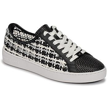 鞋子 女士 球鞋基本款 Michael by Michael Kors OLIVIA LACE UP 黑色 / 白色