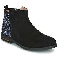 鞋子 女孩 短筒靴 Acebo's 8035-NEGRO-J 黑色