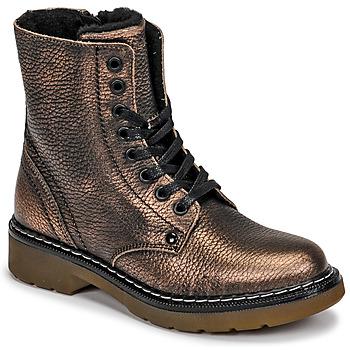 鞋子 女孩 短筒靴 Bullboxer AOL501E6LGCHAM 古銅色