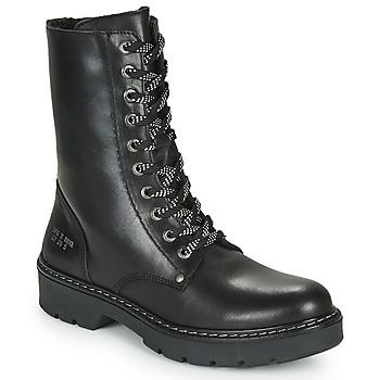 鞋子 女孩 短筒靴 Bullboxer AON523E6L-BKGY 黑色