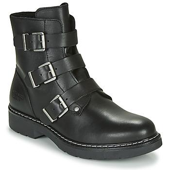 鞋子 女孩 短筒靴 Bullboxer AOL520E6L-BLCK 黑色