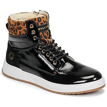 鞋子 女孩 高帮鞋 Bullboxer AOF503E6L-BLCK 黑色