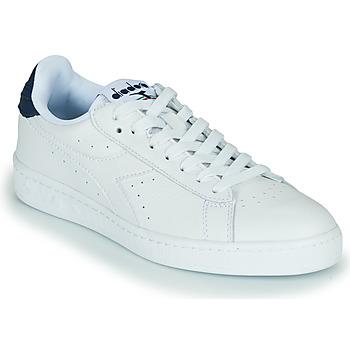鞋子 球鞋基本款 Diadora 迪亚多纳 GAME L LOW OPTICAL 白色 / 蓝色