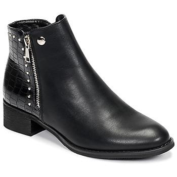 鞋子 女士 短筒靴 Les P'tites Bombes ALINE 黑色