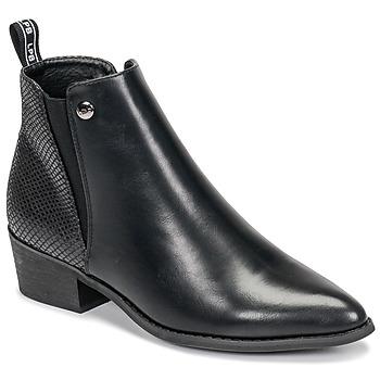 鞋子 女士 短筒靴 Les P'tites Bombes ANTONELLA 黑色