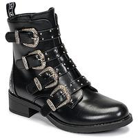 鞋子 女士 短筒靴 Les P'tites Bombes QUADRI 黑色