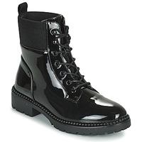 鞋子 女士 短筒靴 Les P'tites Bombes AMBELLINE 黑色