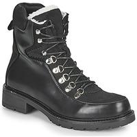 鞋子 女士 短筒靴 Les P'tites Bombes ALANNA 黑色