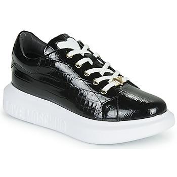 鞋子 女士 球鞋基本款 Love Moschino JA15494G0B 黑色