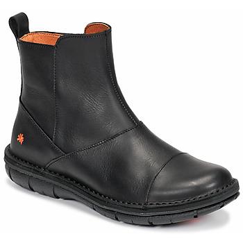 鞋子 女士 短筒靴 Art MISANO 黑色