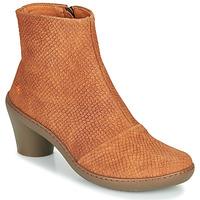 鞋子 女士 短靴 Art ALFAMA 棕色